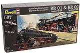 Revell Modellbausatz 02158 - Schnellzuglokomotiven BR 01&BR02 im Maßstab 1:87 -