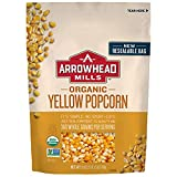 Arrowhead Mills Organic Yellow Popcorn Kernels, 28 Ounce Bag (Pack of 6)