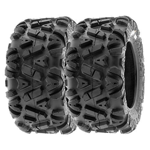 SunF 24x10-12 24x10x12 ATV UTV Tires 6 PR Tubeless A033 POWER I [Set of 2]