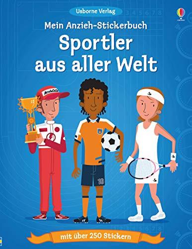 Mein Anzieh-Stickerbuch: Sportler aus aller Welt