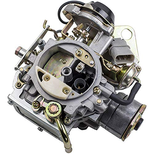 1 Pc of Carburetor Carby, Compatible with Nissan 720 Pickup 2.4L Z24 Engine 1983-1986 16010-21G61