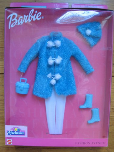 Barbie Fashion Avenue Exclusive Blue Coat with Accessories by Barbie