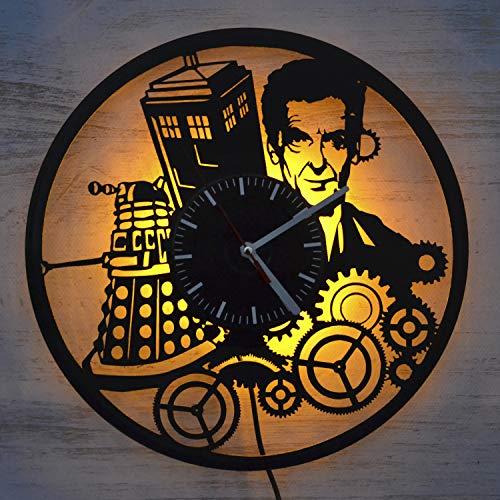 Doctor who TV series design vinyl wall clock