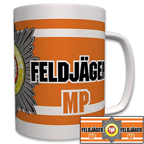 Feldjäger MP Bundeswehr Militär Polizei Kettenhunde Bund - Tasse #7626