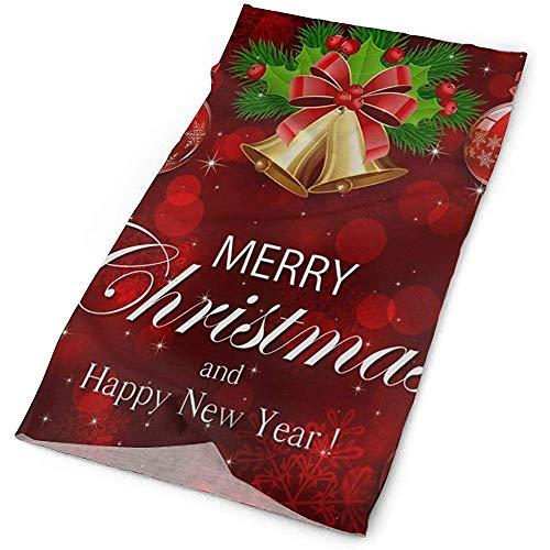 Sainbury Diadema Campana de Navidad Bola Ramas de abeto Bufanda al aire libre Máscara Cuello Polaina Envoltura de la cabeza Banda para el sudor Ropa deportiva