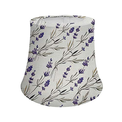 Pensura Purple Lavender Style Lamp Shade for Table Lamp Desk Lamp Home Decorations Women Gifts for Bedroom Living Room Desk Lamps Bedside Table Lamp Night Lights Shade