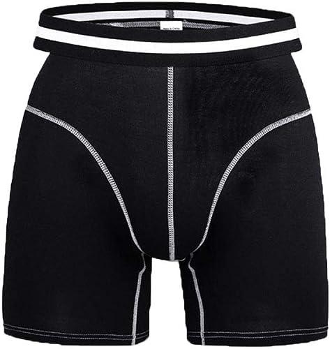 Gikmhyb des Hommes des Hommes Coton Slip Quart De Jour Bref Boxer Le Plus Confortable (2-Pack)