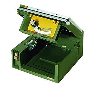 Proxxon 27070 Tischkreissäge-Feinschnitt FET, 230 V, grün/Silber/schwarz/gelb/orange/rot