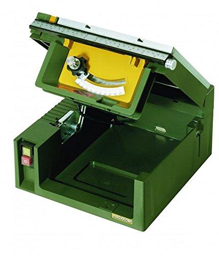 Proxxon Tischkreissäge-Feinschnitt FET, 1 Stück, grün / silber / schwarz / gelb / orange / rot, 27070 - 4