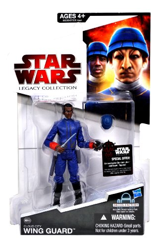 Hasbro Cloud City Wing Guard Sergeant Edian BD50 - Star Wars The Legacy Collection 2009