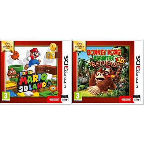 Super Mario 3D & Donkey Kong Country Returns 3D SELECTS
