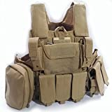 WorldShopping4U Militaire Armée Lourd Devoir Molle Combat Gilet Entraînement de Protection...