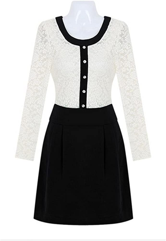 Angel&Lily Sexy Long Sleeved lace Dress Plus Size 1X-10X(size16-52)