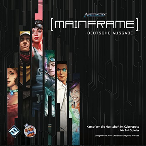 Asmodee FFGD0050 Android: Mainframe, Brettspiel