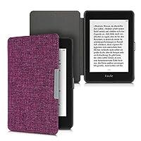 kwmobile 対応: Amazon Kindle Paperwhite (10. Gen - 2018) 用 ケース - 布 電子書籍カバー - オートスリープ reader 保護ケース