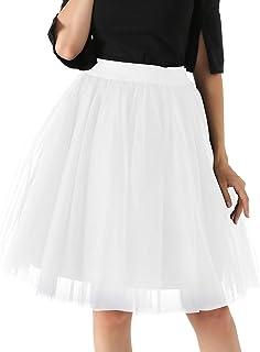 da5c36d52 Amazon.es: Blanco - Faldas / Mujer: Ropa