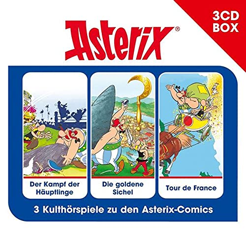 Asterix 3-CD Hörspielbox Vol. 2