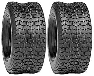 The ROP Shop (2) New 16x6.50-8 Turf Tires 4 Ply Tubeless Cub Cadet Lawn Mower Tractor Rider