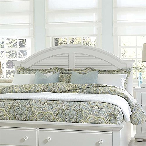 Liberty Furniture Summer House I Panel Headboard, Queen, Oyster White
