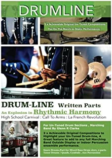 DrumLine: 3 x Achievable Original Compositions to Highlight your  Un-Tuned Drum-line