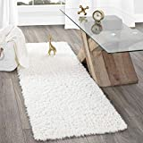 Accent your decor with this sumptuously soft area rug that is sure to combine warmth and elegance in your living rooms, teen rooms, Bedrooms and office rooms. As a great escape from hard floors, This dreamy rug is designed to pamper you, your kids an...