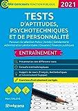 Tests d'aptitudes, psychotechniques et de personnalité: 2021-2022