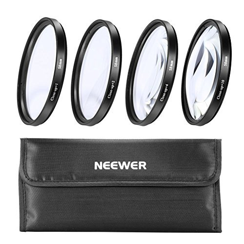 Neewer 58 Mm Close Up Macro Lens for Canon XS XSi T1i XT XTi