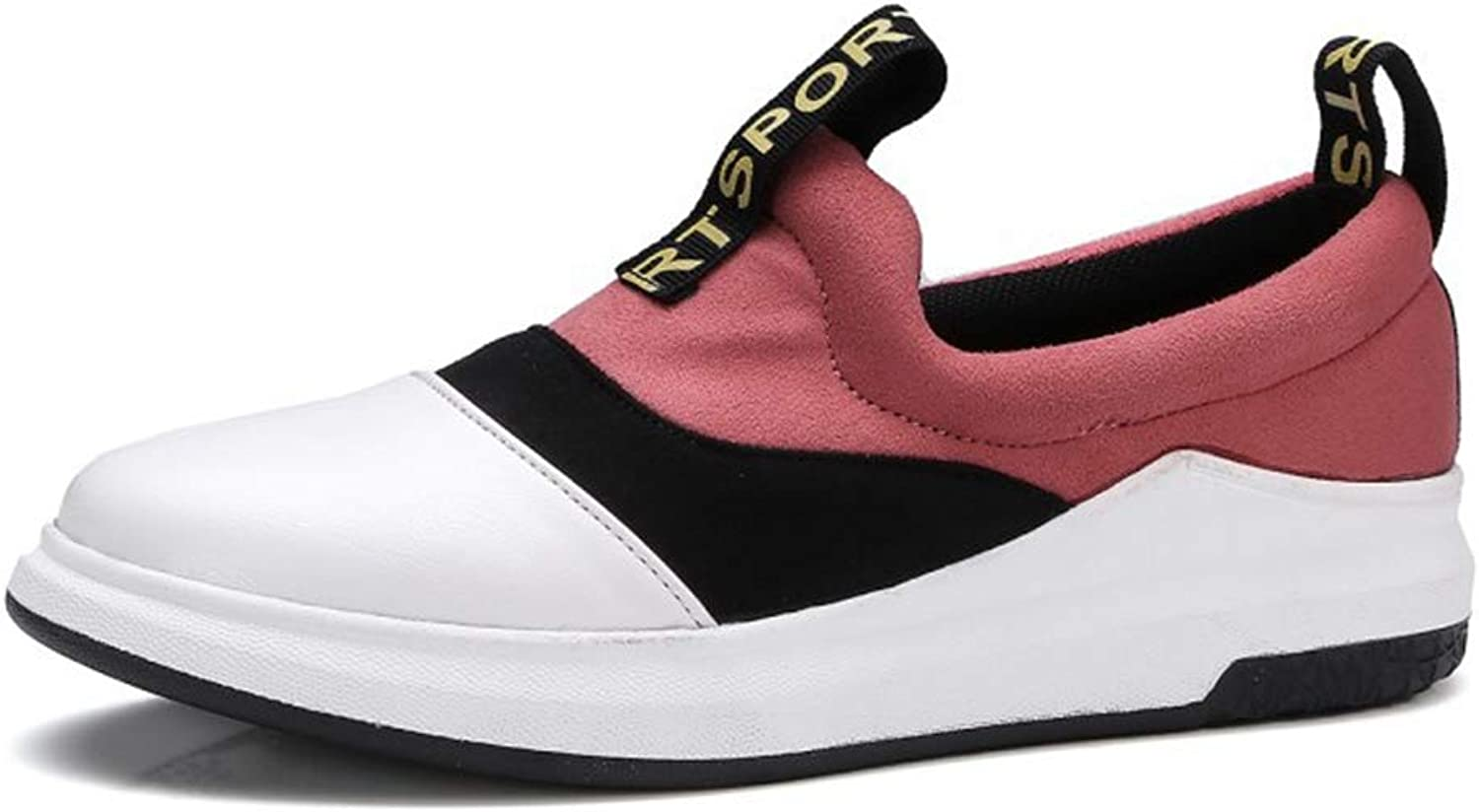 GIY Women's Wedge Platform Sneakers Pull On Slip On Loafers Casual Flats Walking shoes Casual Sports shoes