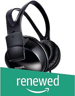 (Renewed) Philips SHP1900/97 Over-Ear Stereo Headphones (Black)