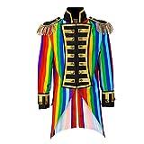 Widmann 59251 Damen Frack Rainbow Parade kostüm, S, S