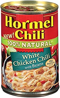 Hormel Natural White Chicken Chili with Beans, 15 Ounce (Pack of 8)