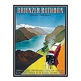 IUYTRF Schweiz Bern Reiseplakate Brienzer Rothorn