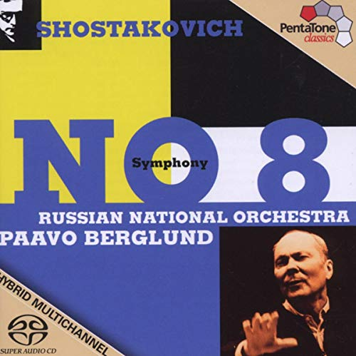 Shostakovich: Sinfonia No. 8 / Berglund