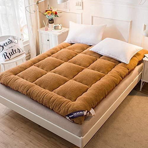 Colchón de Suelo japonés Colchón de futón, 7 cm Espesor Colchoneta Almohadilla para Dormir Colchón Enrollable Plegable Colchón para niños y niñas Dormitorio Colchón para niños Tumbona para el Suelo C