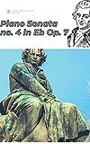 Beethoven Piano sonata no. 4 in E-Flat major, Op.7 sheet music score (English Edition)