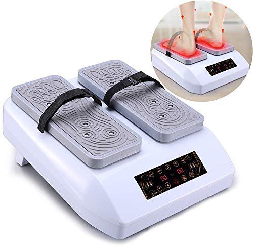 Dispositivo Sentarse/Caminar Masaje magnético y Control Remoto incluidos, Alivia el Dolor y Mejora la circulación, ejercitador pasivo piernas, Entrena Las piernas y el corazón