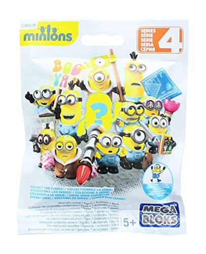 Minions Mega Bloks Micro-Sammelfiguren Serie 3 (zufällig)