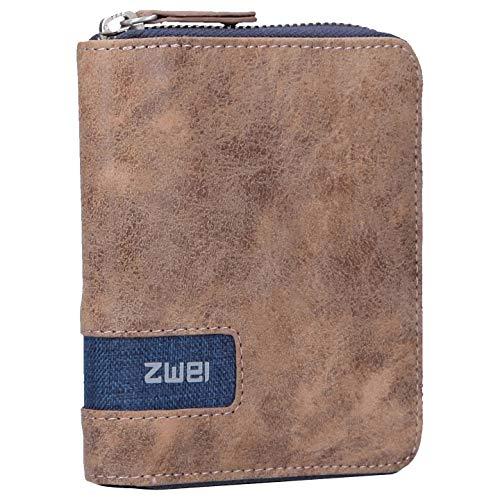 zwei O.Wallet OW1 Börse 13 cm Blue