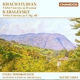 Violinkonzerte von Khachaturian und Kabalevsky