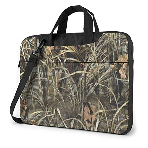 Laptop Sleeve Case,Realtree Camo Wallpapers Logo Briefcase Messenger Notebook Bag 15.6Inch