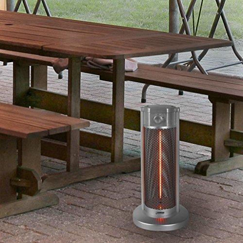 Eurom Table Heater 33.358.9 Tischheizung 900 Watt Tischheizstrahler Terrassenstrahler Heizgerät Heizgerät - 2