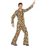 Widmann 08992 Erwachsenenkostüm 70's Anzug, Medium