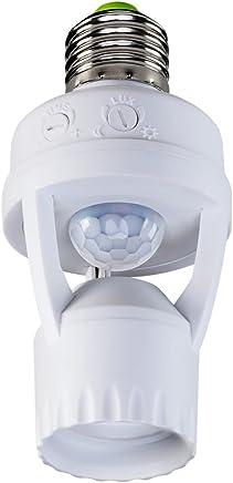 Sensor de Presença para Iluminação com Soquete, Intelbras, ESP 360 S, Branco