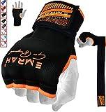 EMRAH Bandages pour Les Mains (Orange, XL)