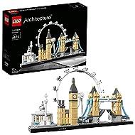 LEGO 21034 Architecture Skyline Model Building Set, London Eye, Big Ben, Tower Bridge Collection, Co...