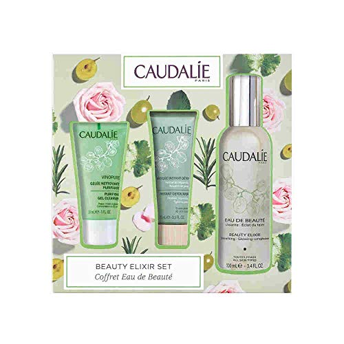 Caudalie Beauty Elixir 100ml 3 Piece Skincare Set