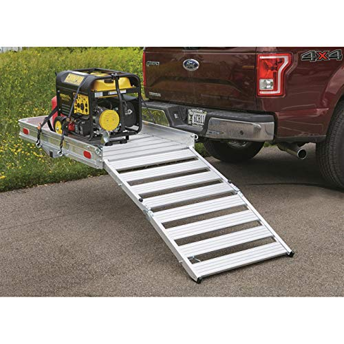 Guide Gear Extra-Large Folding Aluminum Cargo Carrier with 3-Position Ramp