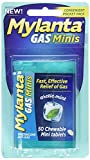 Mylanta Gas Relief Tablets, Mini-Tabs, Mint, 50 Count