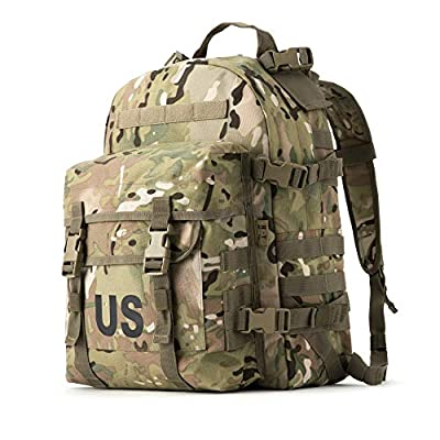 US Molle II Rifleman Military Assault Pack Army Tactical Backpack Multicam