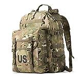 US Molle II Rifleman Military Surplus Assault Pack Army Tactical Backpack Multicam, Medium